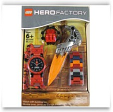 Hero Factory Watch With Building Toy