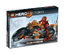 lego hero factory furno bike into